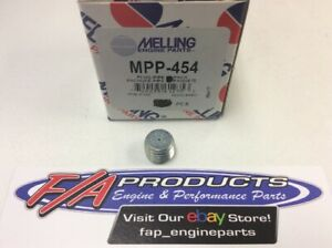 """Melling MPP-454 1/4"""" Pipe Plug With Oil Relief Hex Head Socket Pipe Plugs Each"""