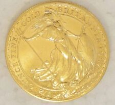 1987 Great Britain 1/2 oz Proof Gold COIN Britannia 50 POUND ULTRA CAMEO