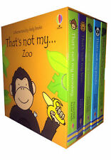 Thats Not My Zoo Collection Usborne Touchy-Feely 5 Books Box Set