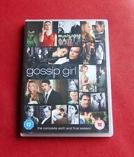 Gossip Girl - The Complete Sixth & Final Season - Region 2 DVD Boxset - Series 6