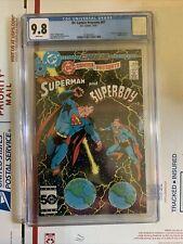 DC Comics Presents #87 CGC 9.8 White Pages 1st Appearance Superboy Prime