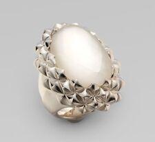 Stephen Webster Superstud Oval Mother-Of-Pearl Sterling Silver Ring Size 7