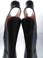 NEW 2018 MULES WEDGE Sandalen Plateau Damen W37 Pumps Schuhe Black High Heels