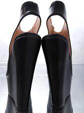 NEW 2017 MULES WEDGE Sandalen Plateau Damen W37 Pumps Schuhe Black High Heels
