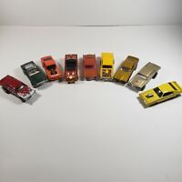 Hot Wheels Matchbox Racing Champions GTO Cars Loose lot of 9 Diecast 1:64 GT500