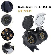 Trailer Plug Adapter 13 Core To 7 Core  Trailer Plug Adapter Converter Splitter