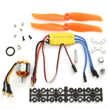 Remote RC 2200KV Brushless Motor 30A ESC Free Mount For Rc Plane Helicopter Part
