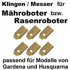 Klingen für Gardena MÄHROBOTER + Husqvarna Automower MESSER Rasenmäher Titan NEU