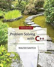 Problem Solving with C++ by Mock and Savitch (2017, Paperback) WITH ACCESS CODE