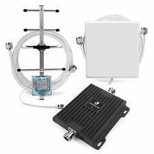 700MHz LTE 4G Data Cell Phone Signal Booster Band12/17 Repeater Yagi Antenna Kit