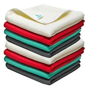 Pure Bamboo Dish Cloths Super Absorbent Quick Dry Grey Large Tea Towel Towelogy®