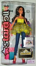 Mattel: Barbie Stardoll - All Dolled Up Brunette Doll with Yellow Outfit
