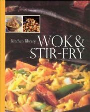 , Wok and Stir-Fry (Kitchen Library), Like New, Spiral-bound