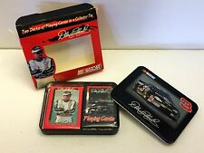 New NASCAR Dale Earnhardt #3 Collectors Tin with 2 Decks of Playing Cards 2000