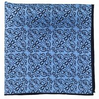New Silk Print Pocket Square Formal Wear Dress Suit Silk Handkerchief