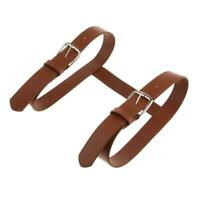 Carrying Strap For Picnic Blanket/Travel Rug/Yoga Leather Mat AU Carry Q4J3
