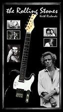 Keith Richards Rolling Stones Signed & Framed Guitar Beckett & JSA Letters COA