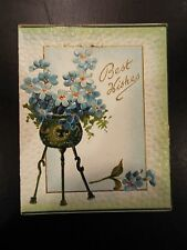 Best Christmas Wishes Vintage Greeting Card