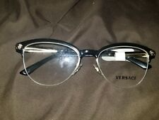 Versace Black and Gold Reading Glasses