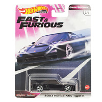 HOT WHEELS 2003 Honda NSX Type-R Black Car Fast & Furious Quick Shifters 2020