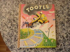 """Tootle. A Little Golden Book.  In original pictorial boards. """"F"""" Edition. 1946"""