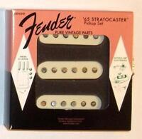 Fender® Pure Vintage '65 Stratocaster Pickup Set~Alnico 5~0992237000~Brand New