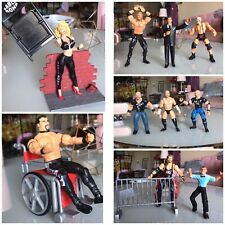 vintage wrestling figures lot