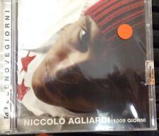 NICCOLO AGLIARDI -1009 GIORNI *CD NUOVO SIGILLATO RARO