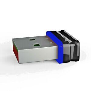 P8 Mini Nano USB Stick Schwarz Blau