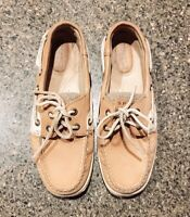 WOMENS SPERRY TOP-SIDER BILLFISH 2 EYED BOAT SHOES 9276619 SIZE 6.5M V202