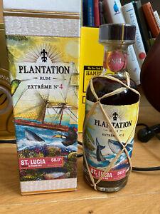 Plantation Extrême 4 St. Lucia 2007 UK 58,9% - Bottle number 1 of 544 - Rhum rum