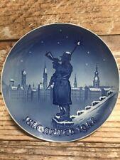 1948 Bing & Grondahl Christmas Plate - Watchman Sculpture Denmark