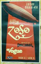 ZoSo Cover Band Poster 11x17 - The Ultimate Led Zeppelin Experience