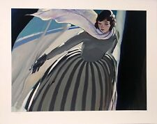 LENA MOROSS WINTER GUEST  LIMITED EDITION SERIGRAPH, COA LARGE ONE