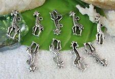 15pcs Tibetan Silver Giraffe Charms 25x14mm R10577