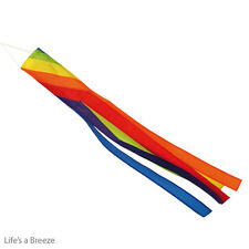 Rainbow Spiral Windsock 40 inch  Telescopic Flag Poles Camping Festivals Caravan