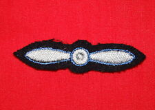 ROYAL CANADIAN AIR FORCE (RCAF) Propellor Badge-BAND MEMBERS - cloth