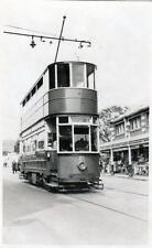 Tram RP postcard size old photo card Southend on Sea no 21 by H B Priestley