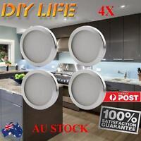 4 X 12V White 18 SMD 2835 LED Kitchen Cupboard Cabinet Wardrobe Counter Lights