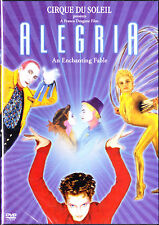 Cirque Du Soleil, Alegria, An Enchanting Fable, (DVD, 2000) Widescreen New