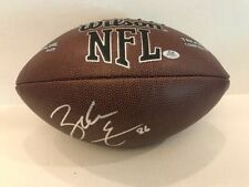 Zach Ertz  Signed NFL Wilson 1455 Football Philadelphia Eagles Coa/Hologram