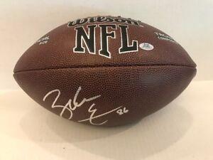Zach Ertz  Signed NFL Wilson Full Size Football Philadelphia Eagles Coa/Holo