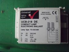 Universal Transformers UCB218/DE Compact Electronic Ballast 2 x 18w *NEW*