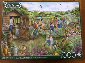 Down at the Allotment by Jumbo 1000 pce Jigsaw Puzzle
