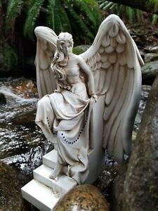 Angel Sculpture- Angel of Awakening- Lisa Azzano Original -New Garden Statue