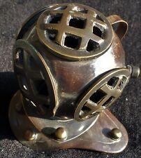 Antique Vintage Brass Diving Helmet - Maritime Replica Gift Replica