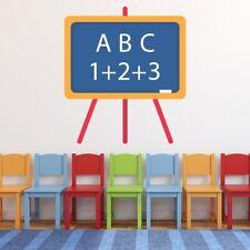Chalk Board Classroom Wall Decal Sticker WS-50815