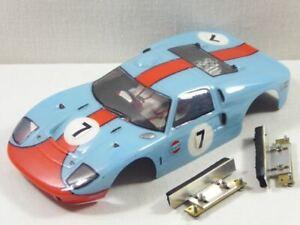 Whitepoint Ford GT40 MKII Body mit Halterungen - 1:24 1/24 Slotcar TOP! (F7379)