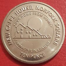 10p coin 2018 New Calpe House Norfolk Square Ten Pence Gibraltar in London