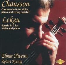 Chausson: Concerto in D; Lekeu: Sonata in G, New Music